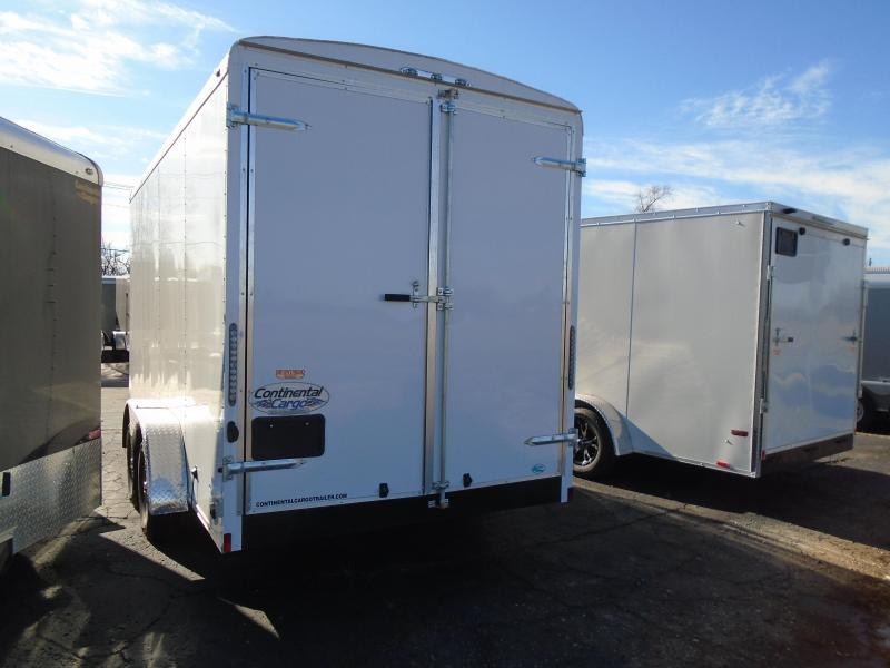 2018 Continental Cargo Tail Wind 7x16 Enclosed Cargo Trailer