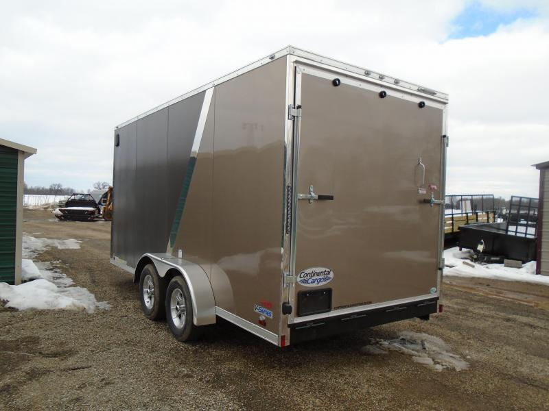 2018 Continental Cargo V Series Enclosed Cargo Trailer