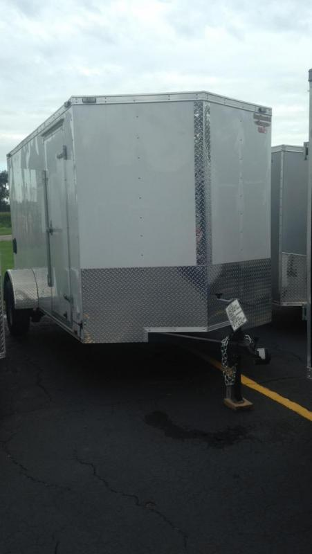 2017 Continental Cargo 6 X 12 Enclosed Cargo Trailer