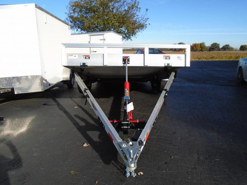 H and H Aluminum 8.5 X 20Speed Loader MX  Trailer