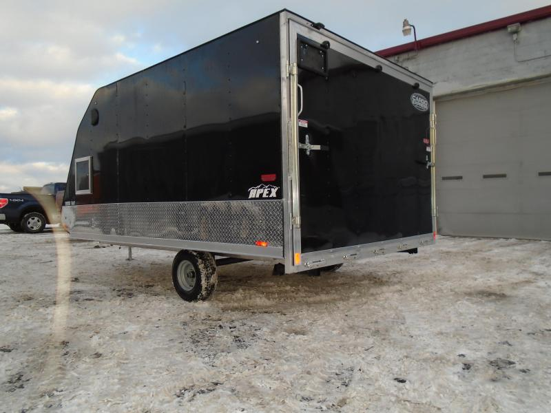 2018 Cargo Express 8.5x12 Apex Snowmobile Trailer