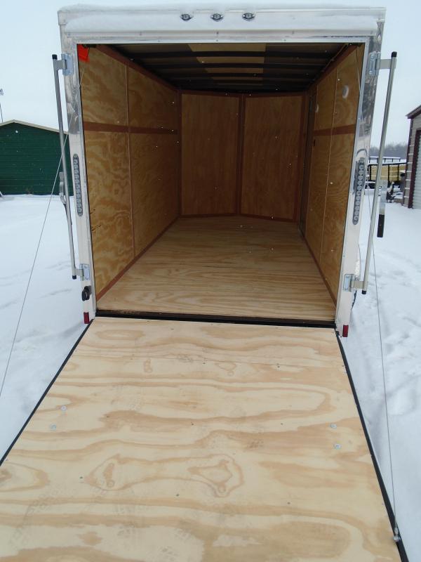 2018 Continental Cargo v series 6x12 Enclosed Cargo Trailer