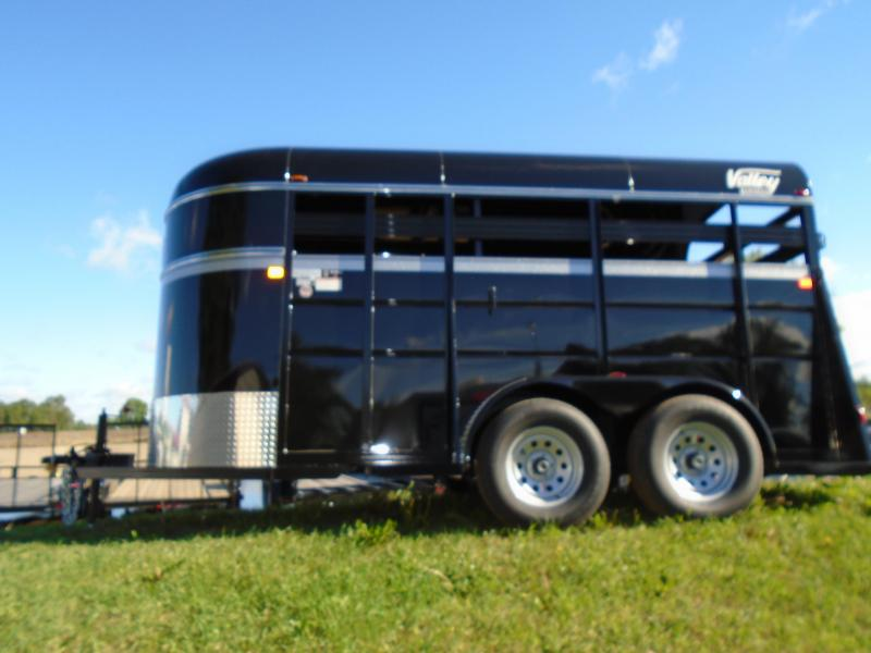 2017 Valley  14 Horse/ Livestock Trailer