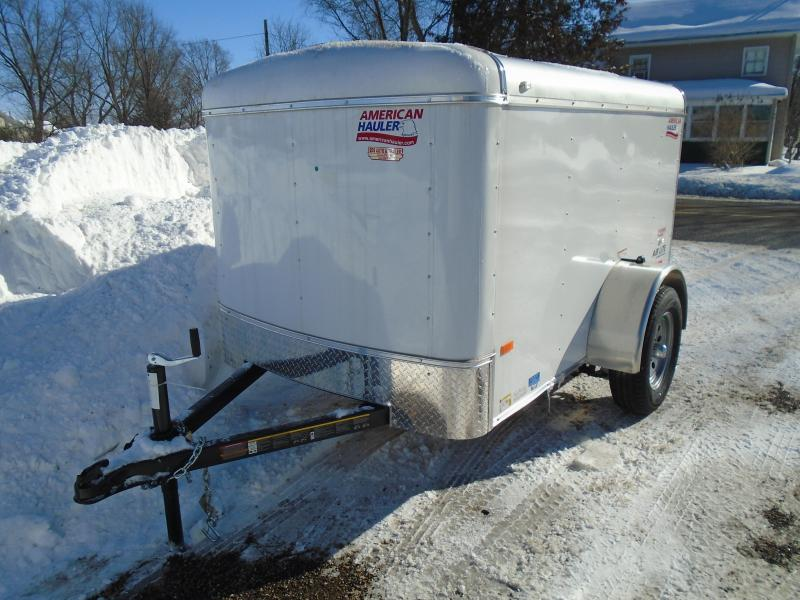 2018 American Hauler Industries 5x8 Air Light Enclosed Cargo Trailer