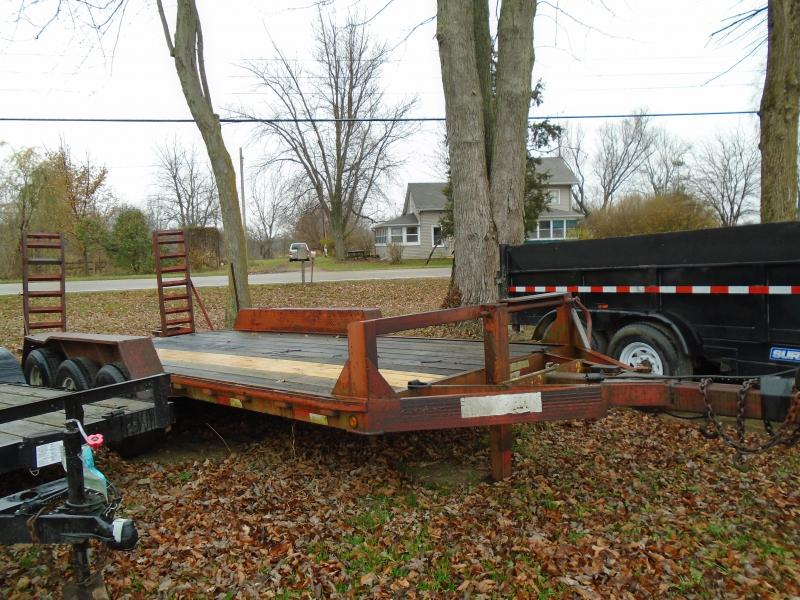 Rental 18' Ti Axle Equipment Trailer
