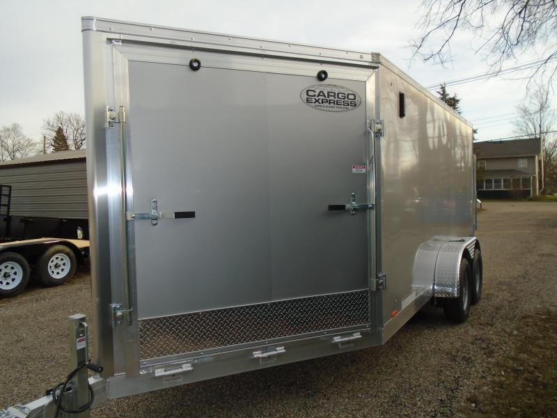 2018 Cargo Express AX series Snowmobile Trailer