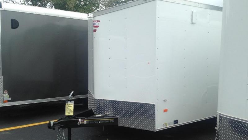 2017 American Hauler 7 X 16 Enclosed Cargo Trailer