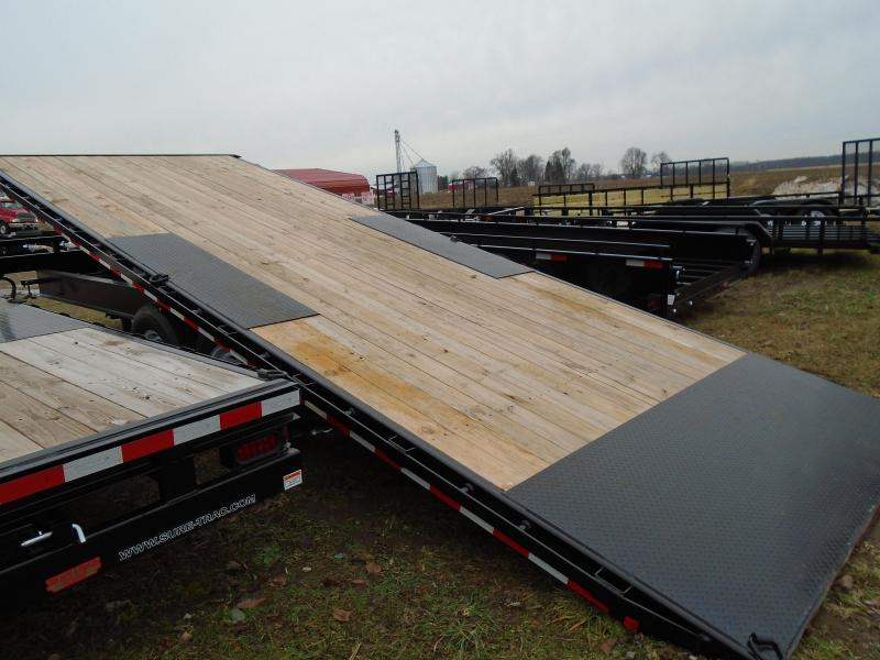 Sure-Trac 22' Deck Over Power Tilt Equipment Trailer
