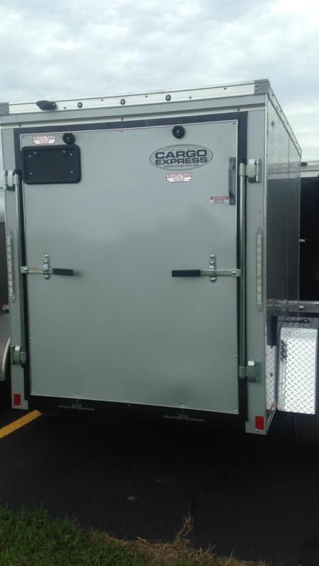 2017 Cargo Express  5 X 8 Enclosed Cargo Trailer