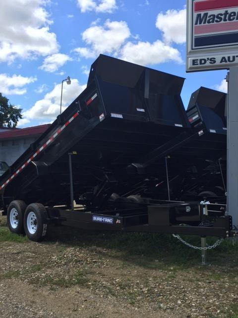 2017 Sure-Trac 82 X 16 Dump Trailer