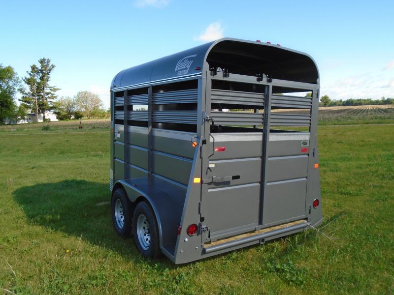 2017 Valley 12' Horse/Livestock Trailer