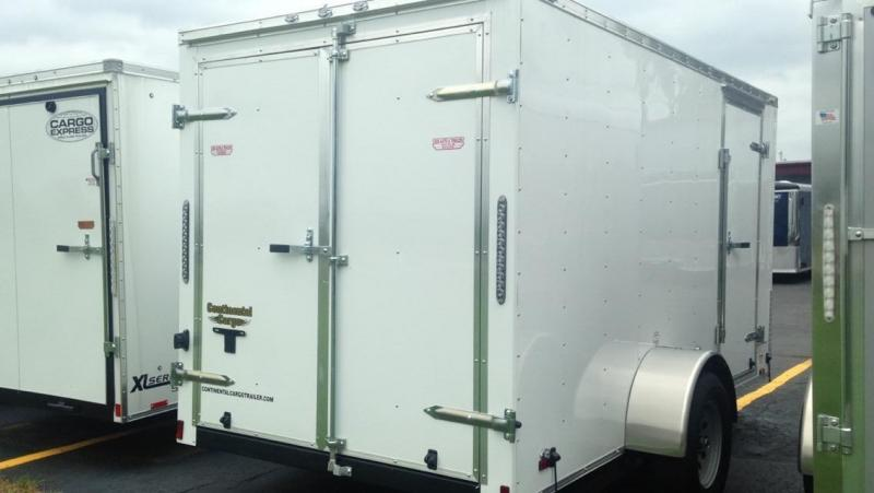 2017 Continental Cargo 6 X 12  Enclosed Cargo Trailer