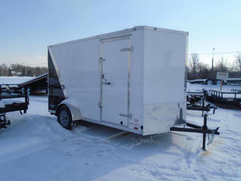 2018 Continental Cargo V Series 6.5x12 Enclosed ATV Trailer