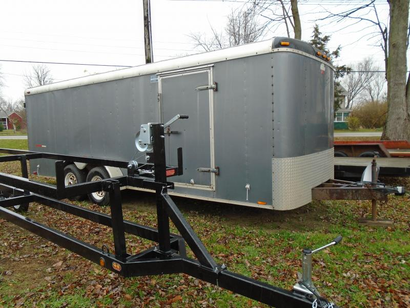 Rental 7 X 20 Enclosed Cargo Trailer