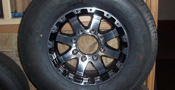 Upgrade to Aluminum Rims