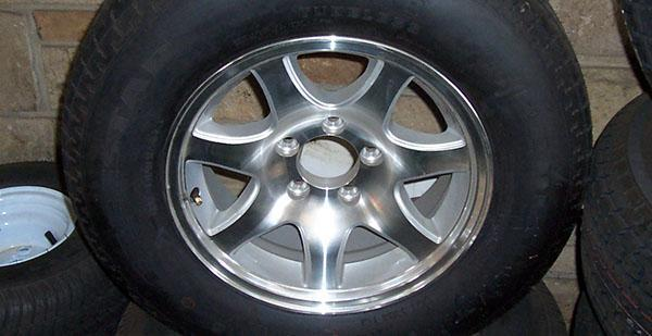 Upgrade to Aluminum Rims