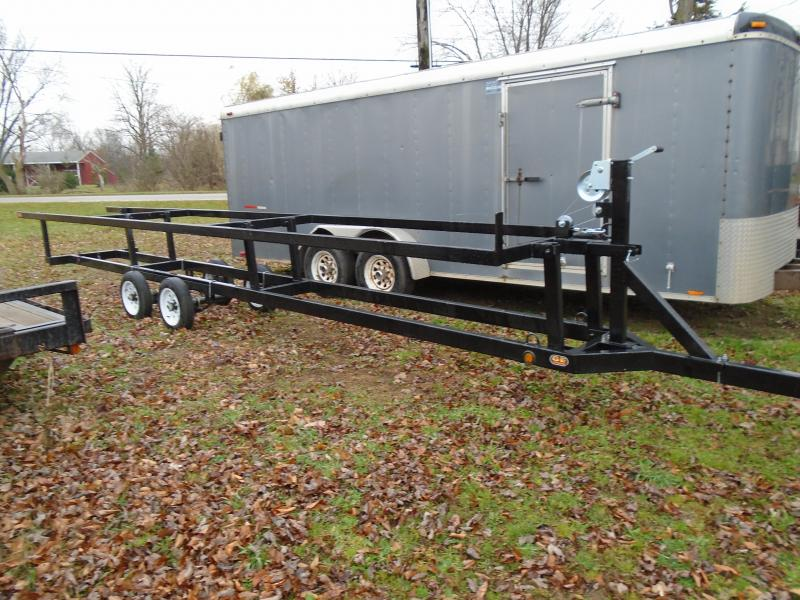 24' CenterLift Rental Pontoon Trailer