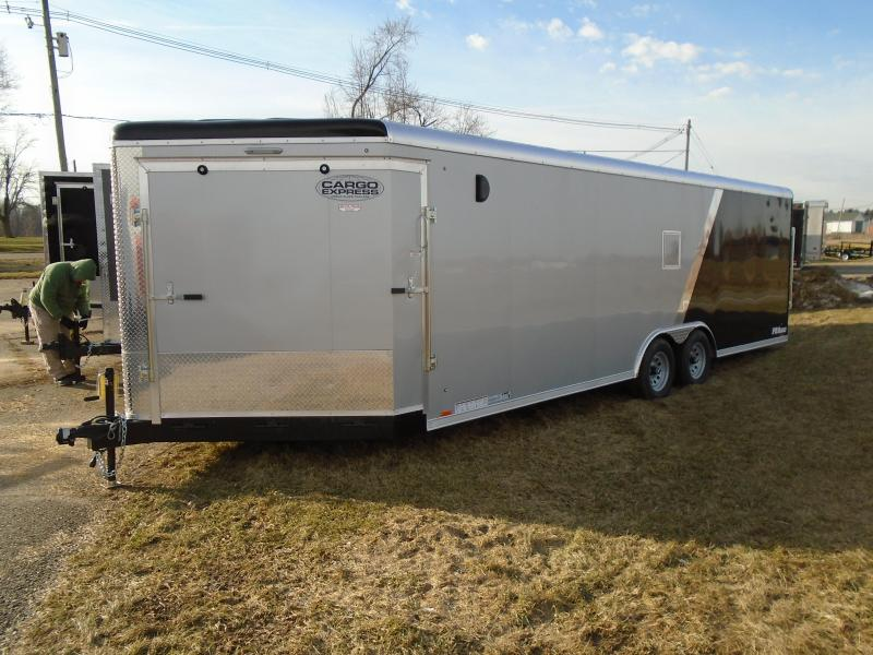 29' Cargo Express Auto/Snow Enclosed Cargo Trailer
