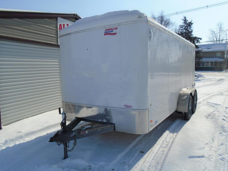 2018 American Hauler Industries 7x16 Air Light Enclosed Cargo Trailer
