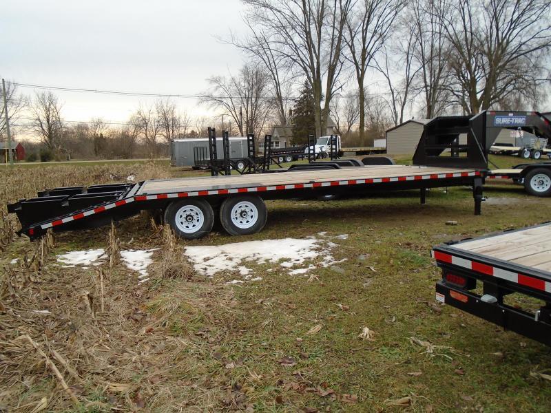 Sure-Trac 20 + 5 Gooseneck Deckover Equipment Trailer