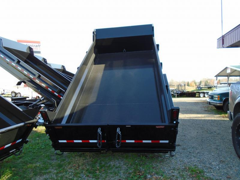 2018 Sure-Trac 82 X 14 Scissor Lift Dump Trailer