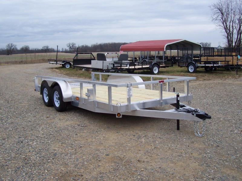 GE aluminum utility trailers