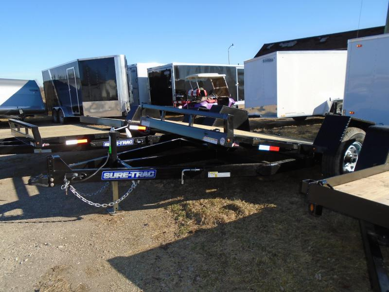2017 Sure-Trac 12 Tilt Flatbed Trailer