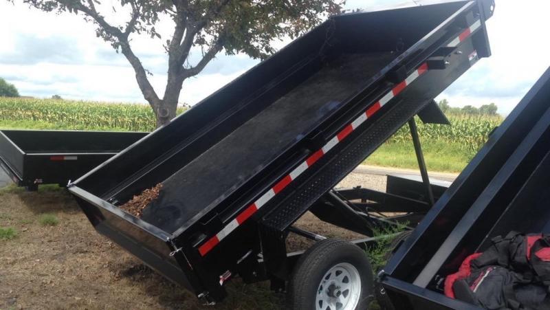 2018 Sure-Trac 62 X 10 Dump Trailer