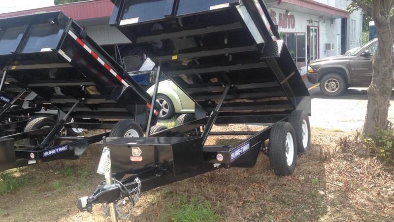 2017 Sure-Trac 62 X 10 Dump Trailer