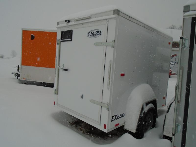 2018 Cargo Express EX series 5x8 Enclosed Cargo Trailer