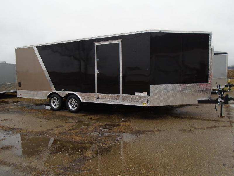 2017 Continental Cargo 20 + 5 Auto/Snow Enclosed Cargo Trailer
