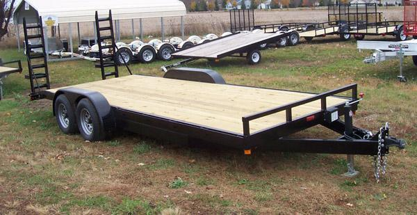20' GE Equipment Trailer 10400 GVWR