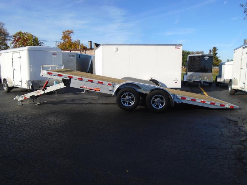 H and H Trailer Speed Loader MX 8.5 X 20 Tilt Trailer