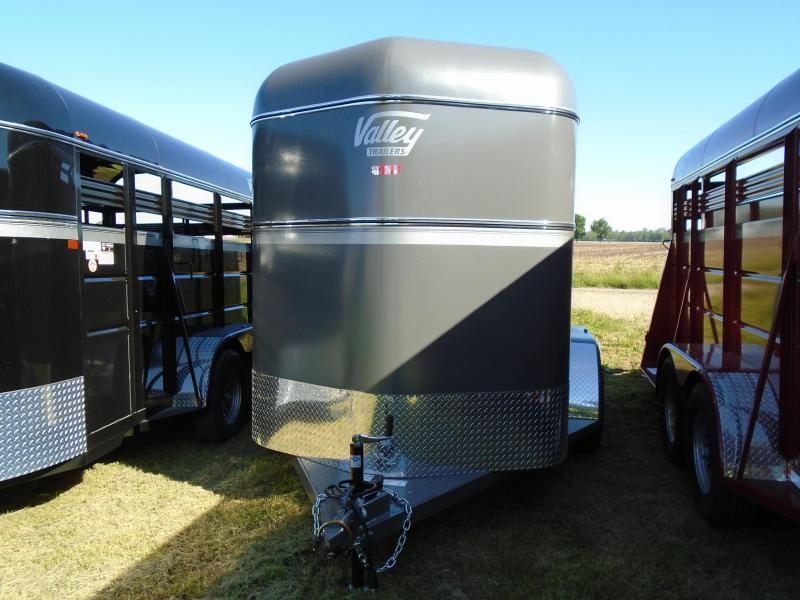 2017 Valley11' Horse/Livestock Trailer