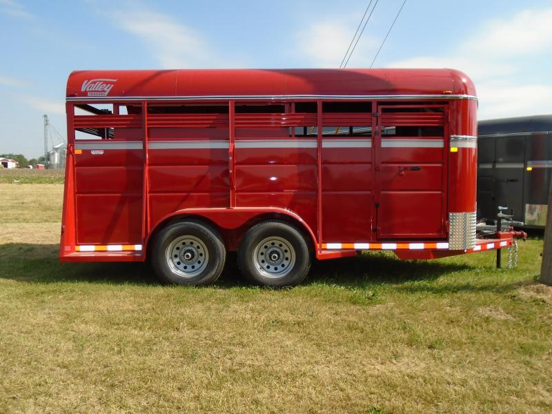 2017 Valley 16' Horse/Livestock Trailer
