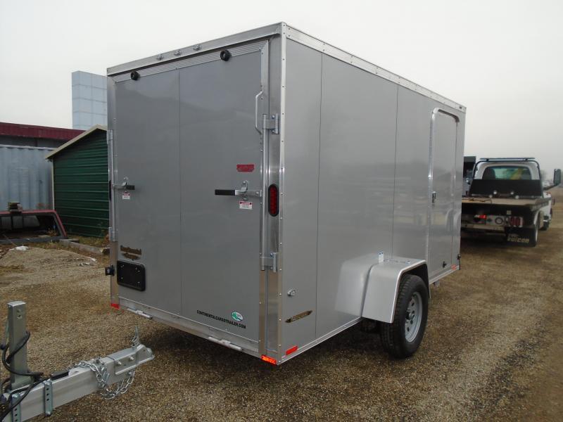2018 Continental Cargo 6x12 V Series Enclosed Cargo Trailer