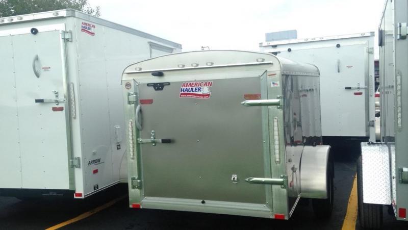 2017 American Hauler Industries 5 X 10 Enclosed Cargo Trailer