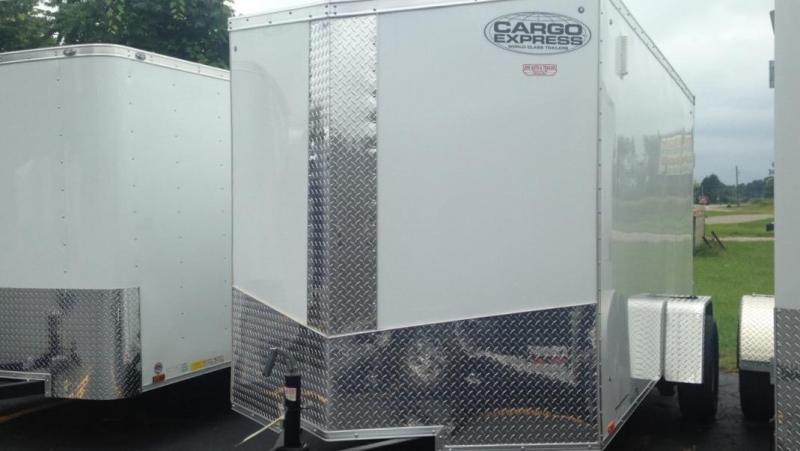 2017 Cargo Express Enclosed 6 X 12 Cargo Trailer
