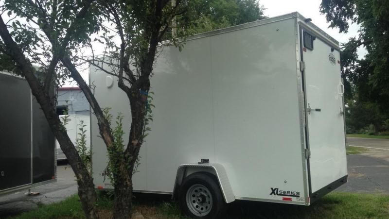 2017 Cargo Express 7 X 12 UTV Enclosed Cargo Trailer