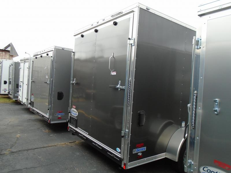 2018 Continental Cargo V Series 7x12 Enclosed Cargo Trailer
