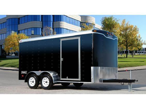 2014 Haulmark TST7X16WT2 Enclosed Cargo Trailer