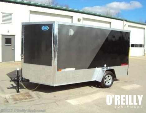 2017 United Trailers XLMTV 7x12 Motorcycle Trailer