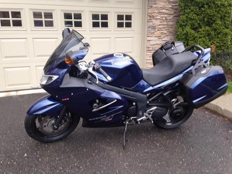 2008 Triumph Sprint ST ABS Motorcycle