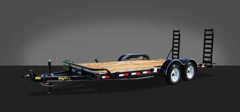 2014 Big Tex 10ET-18SR Equipment Trailers