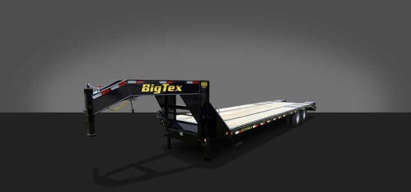 2015 Big Tex 22GN-30' Flatbed Trailer