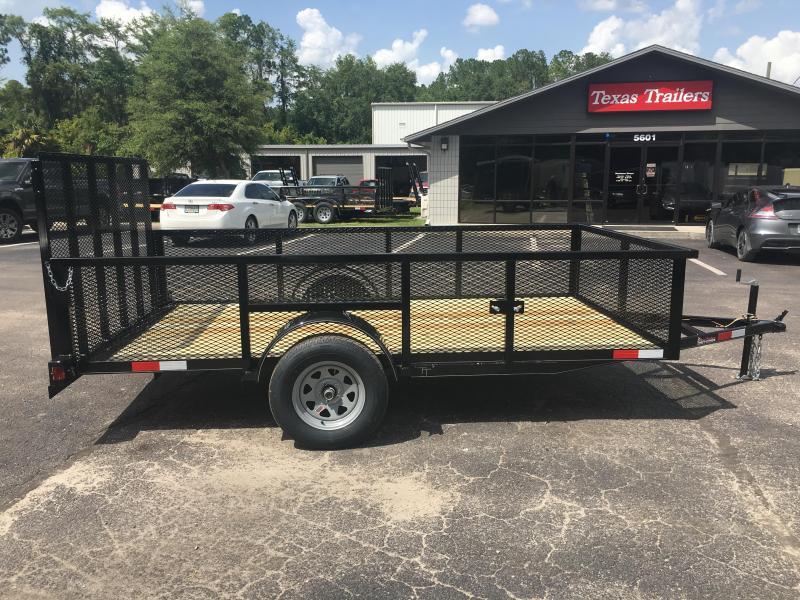 Lm61235 texas trailers 6 39 4 x12 39 lawn maintenance trailer for Garden maintenance trailer