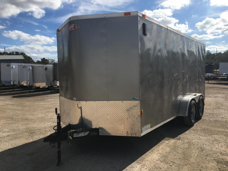 2016 CARGO MATE 7 X 16 CARGO TRAILER W/ SHELVING & TIE DOWNS