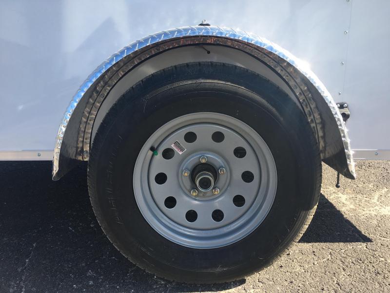GANS610SA CARGO MATE 6 X 10 ENCLOSED CARGO TRAILER W/ DOUBLE REAR DOORS