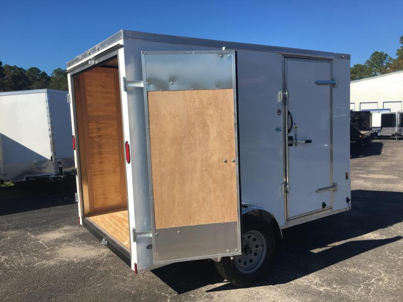 GANS610SA CARGO MATE 6 X 10 ENCLOSED CARGO TRAILER W/ DOUBLE REAR DOORS