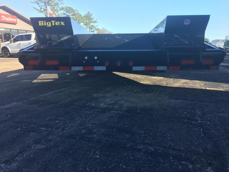 14PH-20BK+5 BIG TEX 25' FLATBED TRAILER